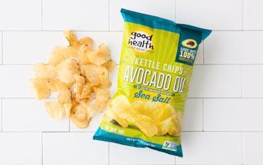 Sea Salt Avocado Oil Kettle Chips
