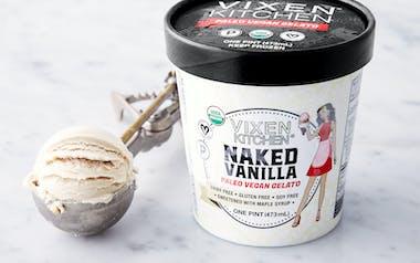 Vegan & Paleo Vanilla Gelato