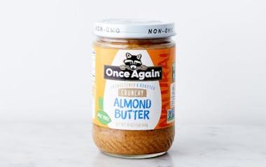 Natural Crunchy Almond Butter