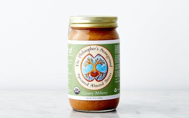 """Organic """"Creamy Alchemy"""" Sprouted Almond Butter"""