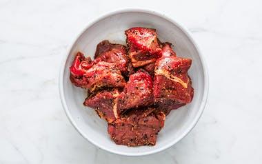 Turkish Marinated Beef Kebabs