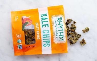 Organic Zesty Nacho Kale Chips