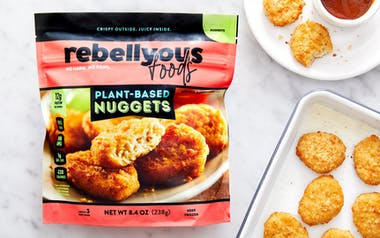 Rebellyous Plant-Based Chicken Nuggets