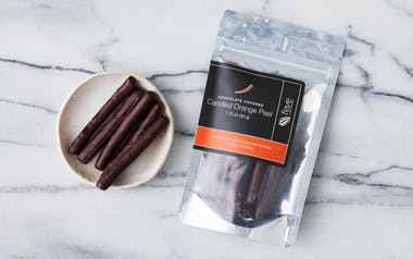 Chocolate Covered Candied Orange Peel