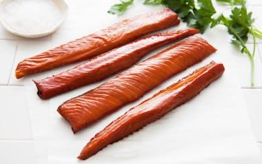 Wild Smoked Keta Salmon Filet (Frozen)