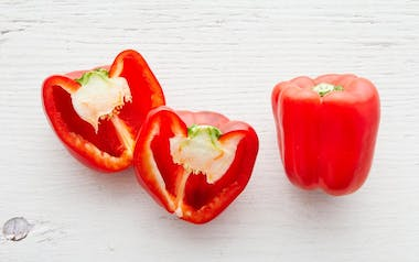 Organic & Fair Trade Large Red Bell Pepper Duo (Mexico)