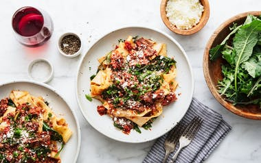 Pappardelle with Pork & Beef Ragù