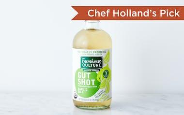 Organic Garlic Dill Pickle Probiotic Gut Shot