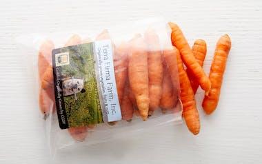 Bagged Organic Nantes Carrots