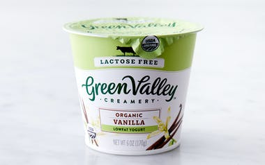 Organic Lactose Free Vanilla Yogurt