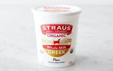 Organic Whole Greek Yogurt