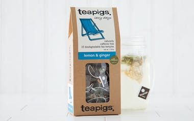Lemon & Ginger Tea Bags