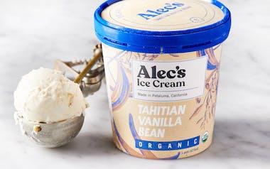 Organic Tahitian Vanilla Bean Ice Cream