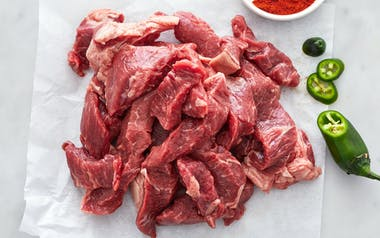 Grass-Fed Beef Fajita Meat (Frozen)