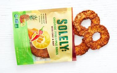 Organic Pineapple Rings with Chili & Salt