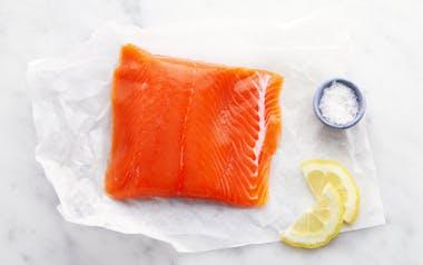 Wild Alaskan Coho Salmon Filet (Frozen)