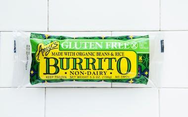 Gluten-Free Bean & Rice Burrito
