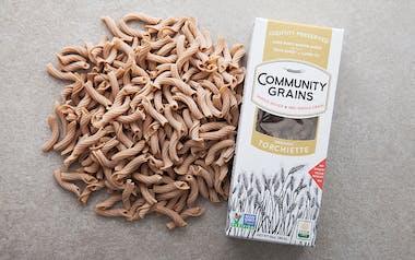 Organic Whole Grain Torchiette Pasta