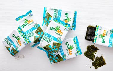 Organic Sea Salt Roasted Seaweed Snacks