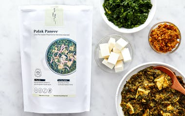 Instant Pot Palak Paneer Meal Kit