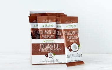 Chocolate Coconut Collagen Fuel, Single Serve