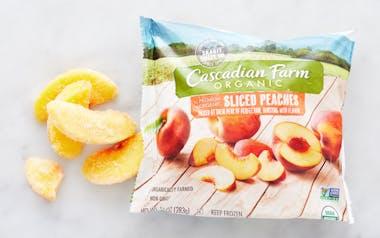 Organic Frozen Sliced Peaches
