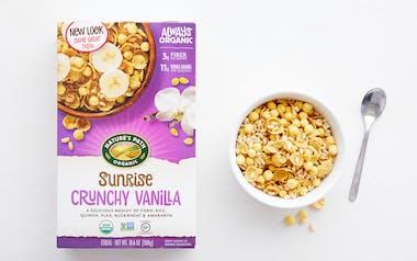 Organic Gluten-Free Crunchy Vanilla Sunrise Cereal