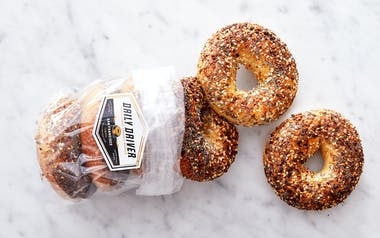 Organic Wood Fired Everything Bagels