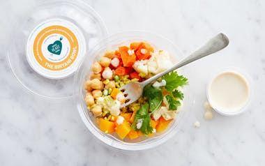 Indian-Inspired Veggie Rice Bowl