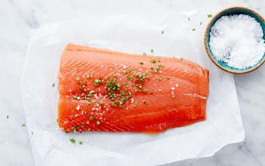 Wild Alaskan King Salmon Filet
