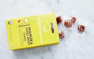 Organic Lemon & Propolis Manuka Honey Drops