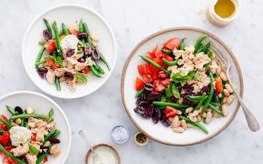Nicoise Salad with Tuna & White Beans