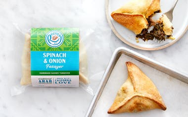 Par-Baked Spinach & Onion Fatayer (Turnovers)