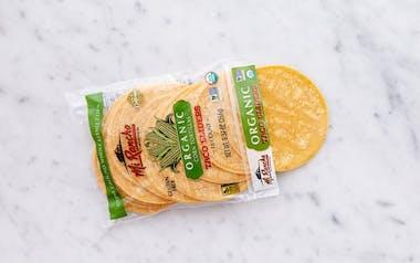 Organic Corn Taco Sliders Tortilla
