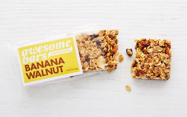 Banana Walnut Awesome Bar