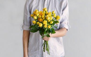 Yellow Spray Roses