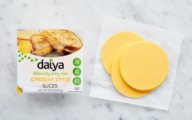 Plant-Based Cheddar Style Slices