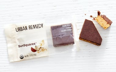 Vegan Sunflower Butter Cacao Squares