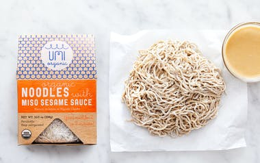 Organic Noodles with Miso Sesame Sauce