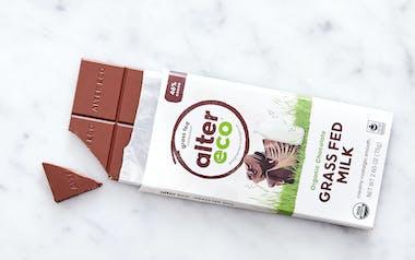 Grass Fed Milk Chocolate Bar