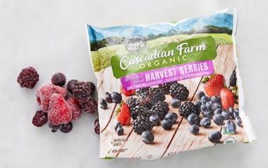 Organic Frozen Harvest Berries