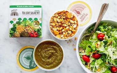 Vegan Tea Leaf Salad Kit