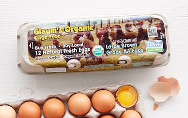 Organic Cage Free Brown Eggs (Large)