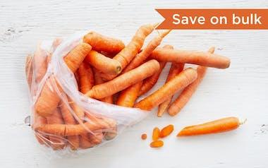 Bulk Organic Loose Nantes Carrots