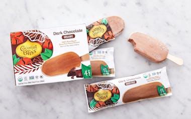 Organic Vegan Dark Chocolate Coconut Bars