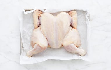 Brined Spatchcocked Chicken