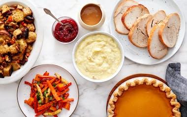 Small Complete Thanksgiving Turkey Dinner