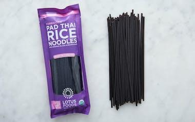 Organic Forbidden Rice Pad Thai Noodles