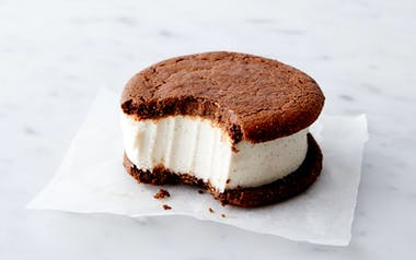 Organic Gluten-Free & Vegan Cardamom Ice Cream Sandwich