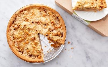 Hazelnut Pear Pie